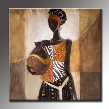 Hot African Painting Art Canvas Modern Paintings