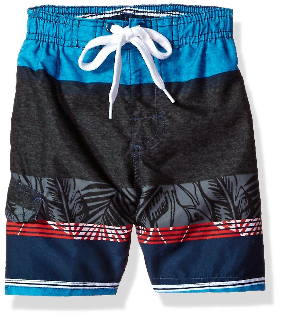 8a6e332e90 Kanu Surf Boys' Fusion Stripe Quick Dry Beach Board Shorts Swim Trunk