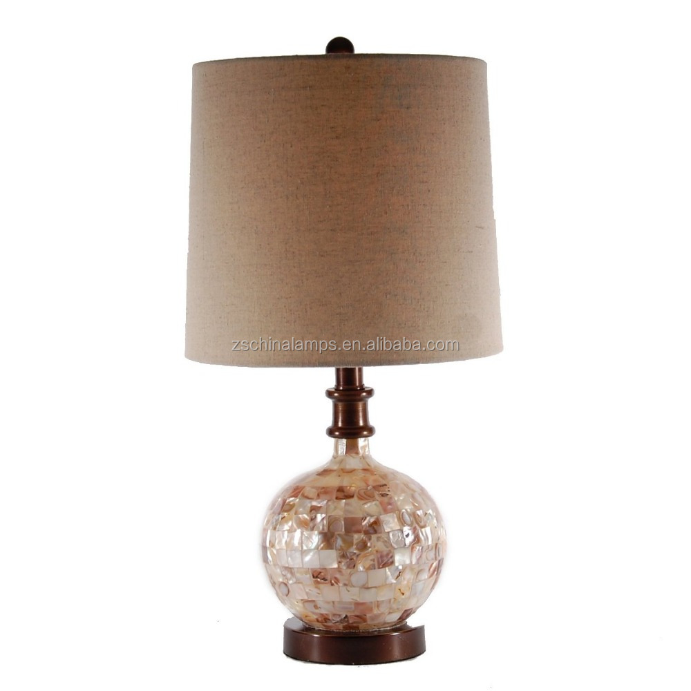 Factory Direct Price Small Cubic Shell Table Lamp Goof For Bedside ...