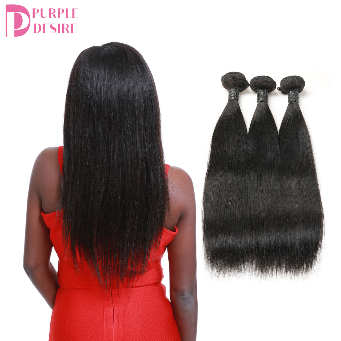 Free Sample Wholesale Factory bulk hair Brazilian Human Hair Bundles with Closure