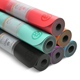 UGO 5mm Professional Edition Wholesale Eco Friendly Fitness Natural Rubber PU Yoga Mat Durable