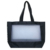 Environmental Friendly Black White Two Tone Mesh 600 Denier Polyester Tote Bag