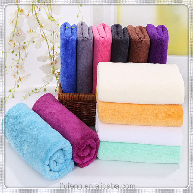 High quality printed dyed quick dry microfiber hand removal towels for hair salon hair salon