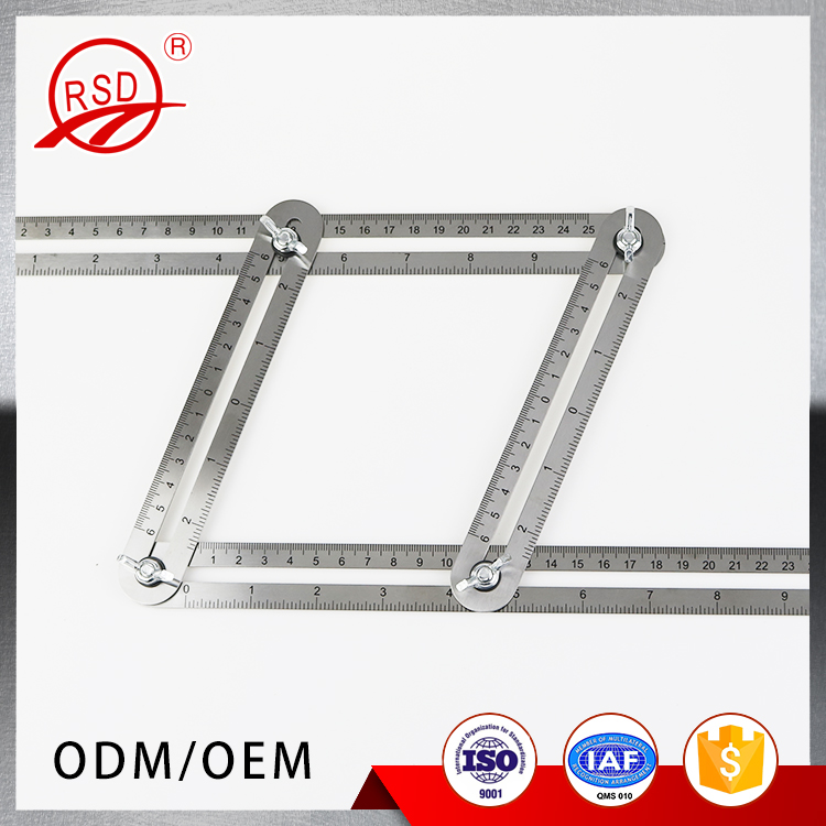 Alibaba Hot Sale Steel Template Tool Measures All Angles Forms Angle Multi Angle Ruler Wholesale