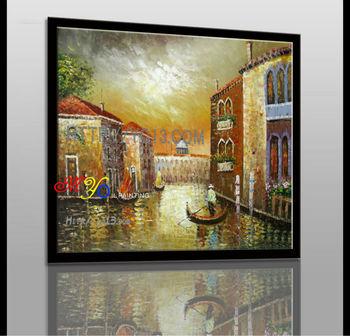 New handmade nhà ngh? thu?t trang trí Venice wall art canvas ... & New Handmade Nhà Ngh? Thu?t Trang Trí Venice Wall Art Canvas Oil ...