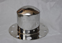 22.5 stainless steel hub cap/centre cap