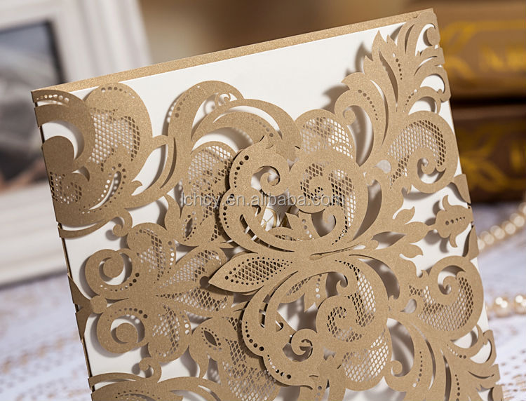 Wedding Invitation Card Making Machinelaser Engraving Cutting