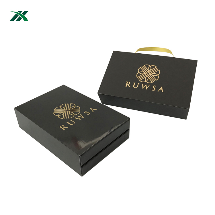 hot selling electronic phone gift paper boxes foil logo