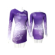 college team long sleeve cheerleading practice costume plus size