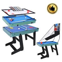 5 in 1 MDF/PB air hockey & tischtennis & basketball & billard 3.5ft Spiele Tisch