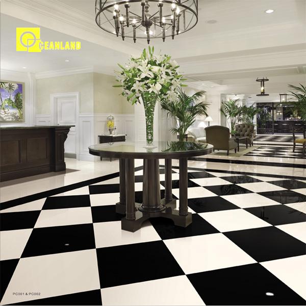 60x60 azulejo de piso de porcelanato blanco-Alicatados ...