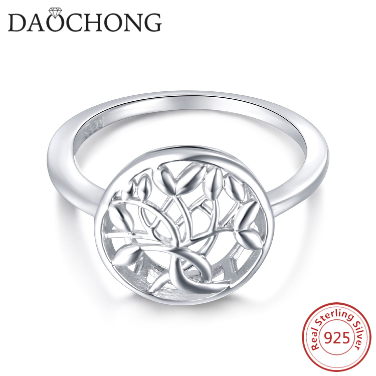 Beautiful Tree Shaped Rings 925 Silver Jewelry Ring Gift For ...