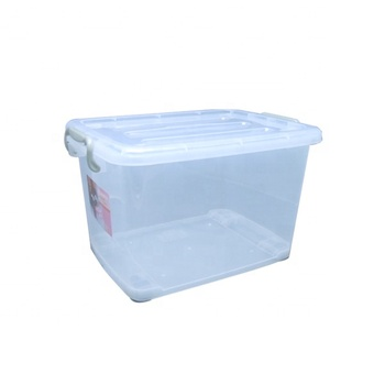40l Big Plastic Storage Container With Wheel Buy Plastic Storage