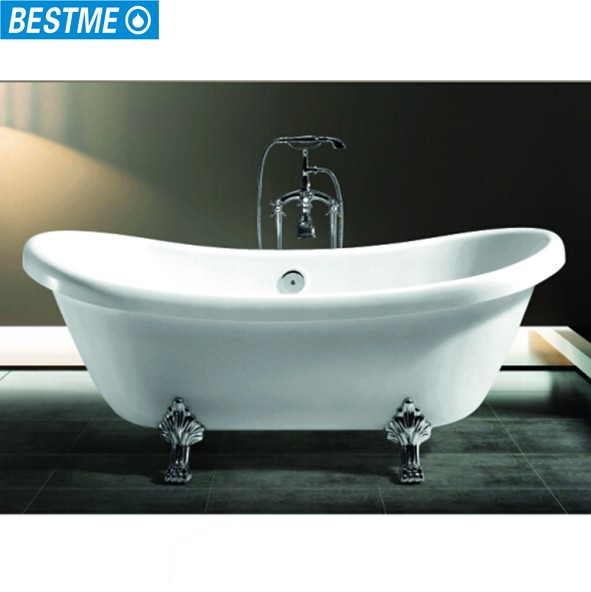 Bt-y2517 Classical Bathroom Movable Old Freestand Bathtub With Lion ...