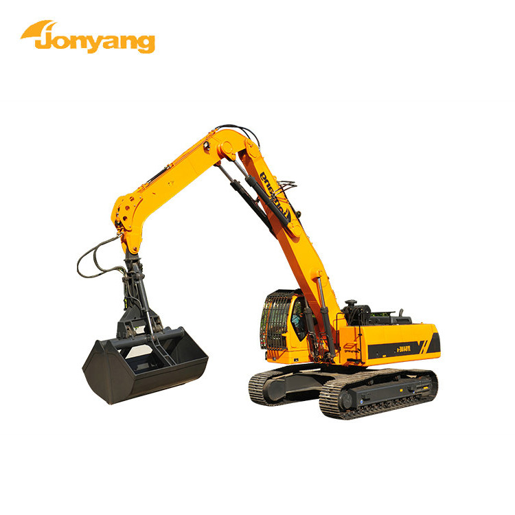 Cheap price high quality multipurpose grab excavator