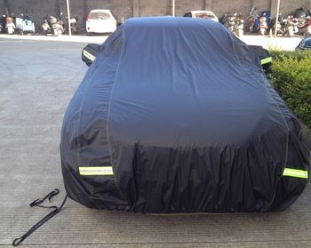 Peru Argentina market hot sale PVC With Cottonr Car Protection Cover  EVO L or FD 3103 Car Cover