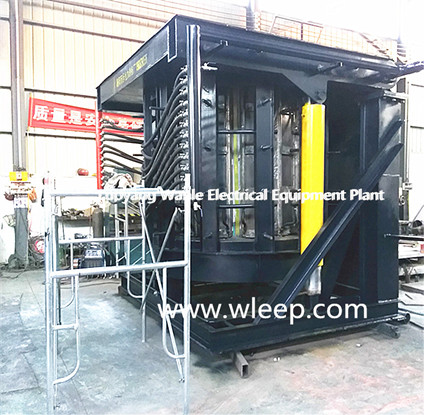 8T Steel Shell IF induction Steel Melting Furnace