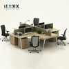 2016 latest design 4 seat office bench modern office workstations