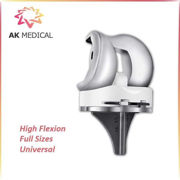 Primary TKA total knee implants prothesis, 145 High deep Flexion, CoCrMo Implants