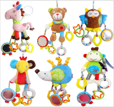 Toys & Hobbies Knowledgeable New Cute Cartoon Chick Baby Beads Grasping Ball Music Light Teether Rattles Toy