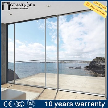 Hot Sale Soundproof Interior Sliding Door Aluminium Glass Door Design