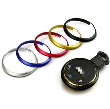 HOT ! Upgrade Alloy Key rings key trim key chain For BMW Mini Cooper Clubman countryman R56 R57 R58 R60 R61