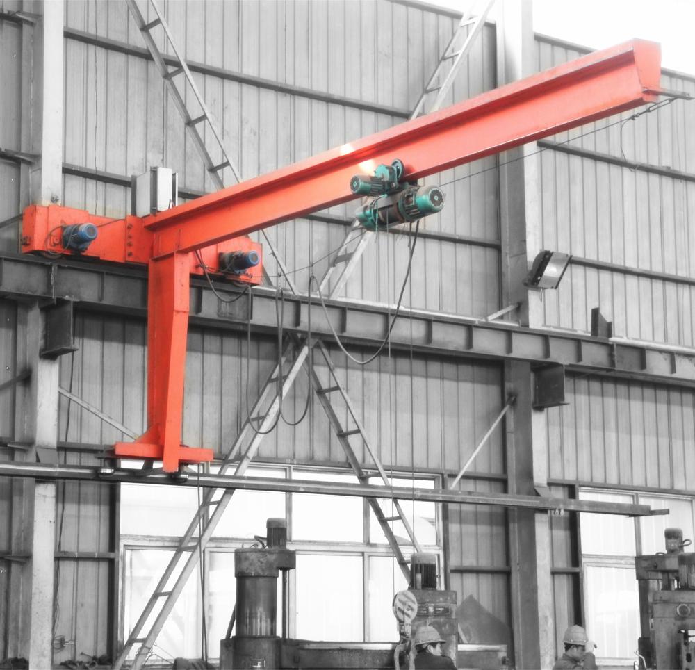 Jib Crane Usage : Indoor outdoor use degree rotating warehouse arm jib