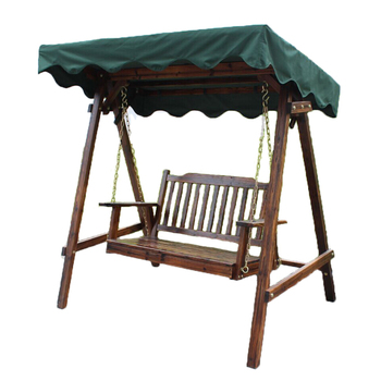 Wooden Swing Chair 2 Seater Garden Swing With Canopy Buy Garden