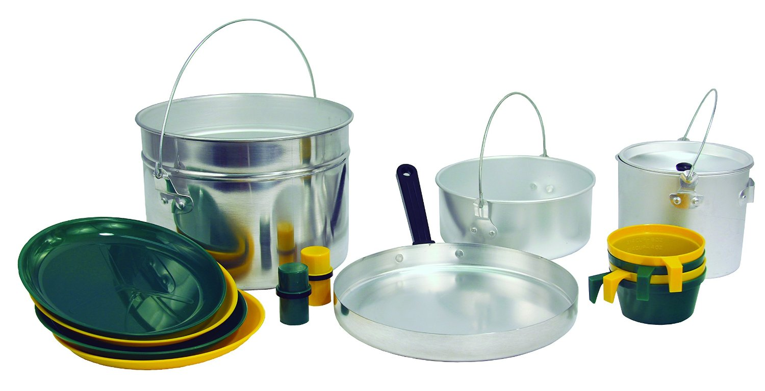 cheap camping cook set