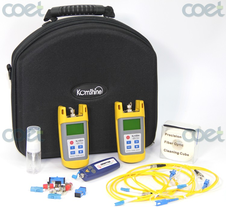 Cost-Effective Fiber Optic Loss Tester Tool Kit Orientek TLT-25M OPM/ OLS / VFL