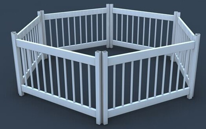 High Quality Beautiful Strong Pvc Plastic Pet Fence Buy
