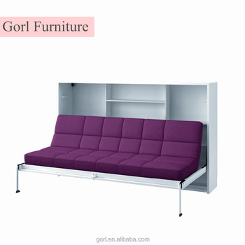 modern furniture folding sofa wall bed china murphy kids beds cf124