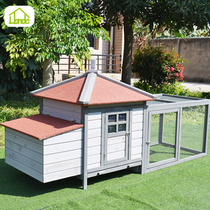 Pet products manufacture provides high quality wooden chicken coop
