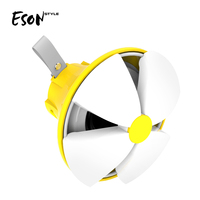 Eson Style 7 colors Light RGB lamp Shiny flower IPX4 Waterproof Bluetooth outdoor Detachable LED Wireless Speaker