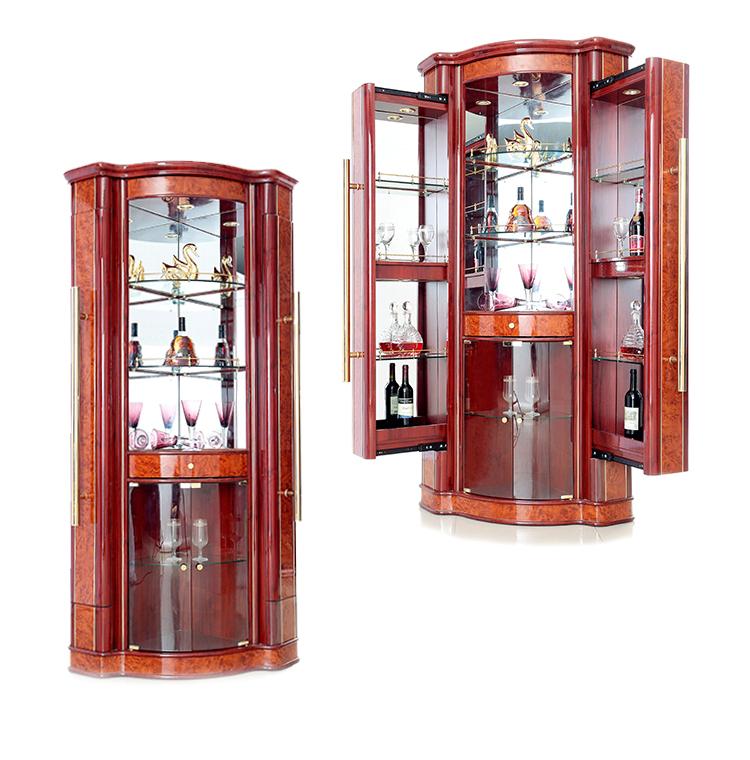Living Room Modern Corner Bar Cabinet Furniture Home Bar