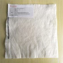 Polyester Needle Punched Water Permeable Nonwoven Geotextile Filter Fabric