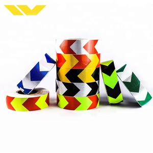 Trade Assurance Order 5cm PVC Adhesive Retro Reflective Tape