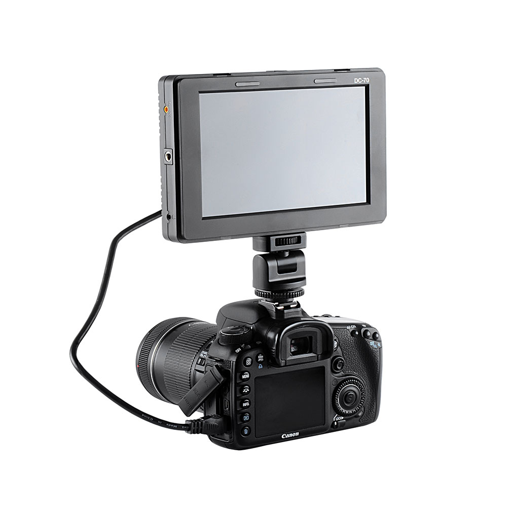 Mcoplus 7'' 1280x800 LCD Monitor for DSLR Camera Camcorder