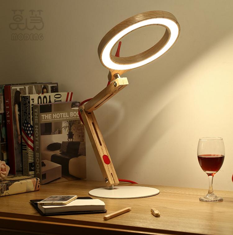 Modeng Creative Led Flexible Reading Light Unique Handmade
