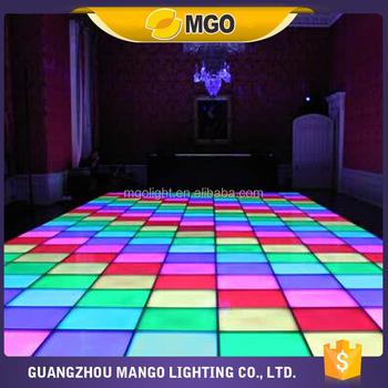 Party Disco Light White Dance Floor Led Dance Floor Mat