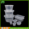 compartments transparent clear disposable plastic food boxes