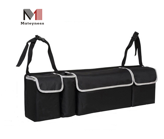 Grote capaciteit Multi-use Car Trunk Oxford doek achterbank auto organisator
