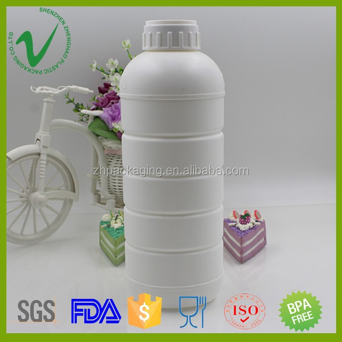 1000ml HDPE evoh liquid fertilizer plastic bottle coex for chemical