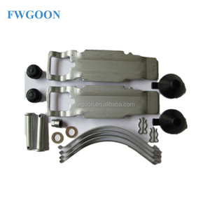 brake pad repair kit Fwgoon Auto Brake System Brake Lining Shoe Repair Kit for sale