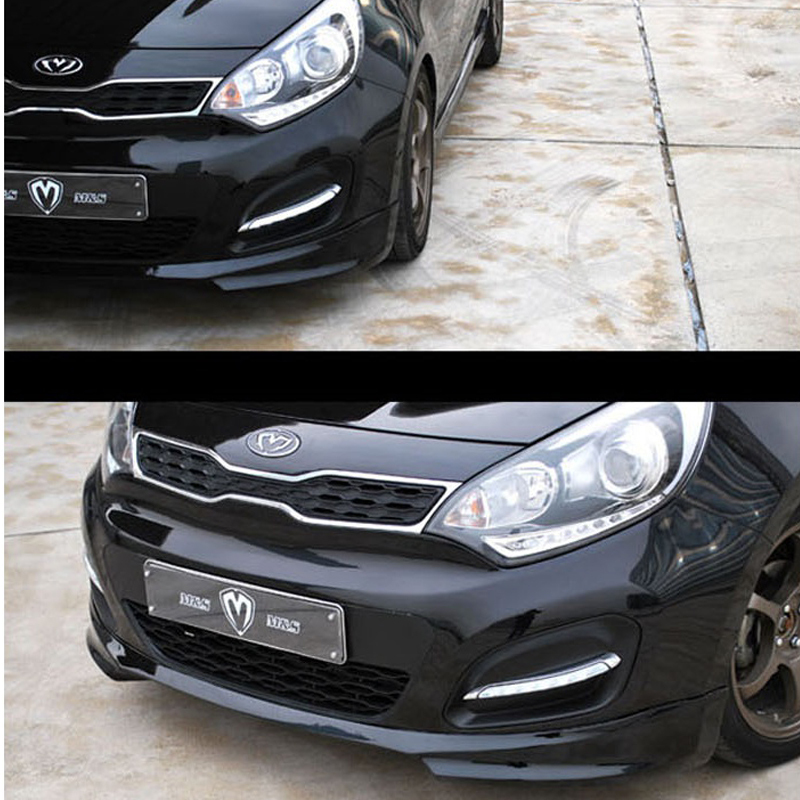 2013 Kia Rio: Aero Parts Front Lip Unpainted For KIA RIO Hatchback 2012