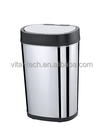 30L High Quality Touchless Stainless Steel Infrared Bio Medical Waste Bins