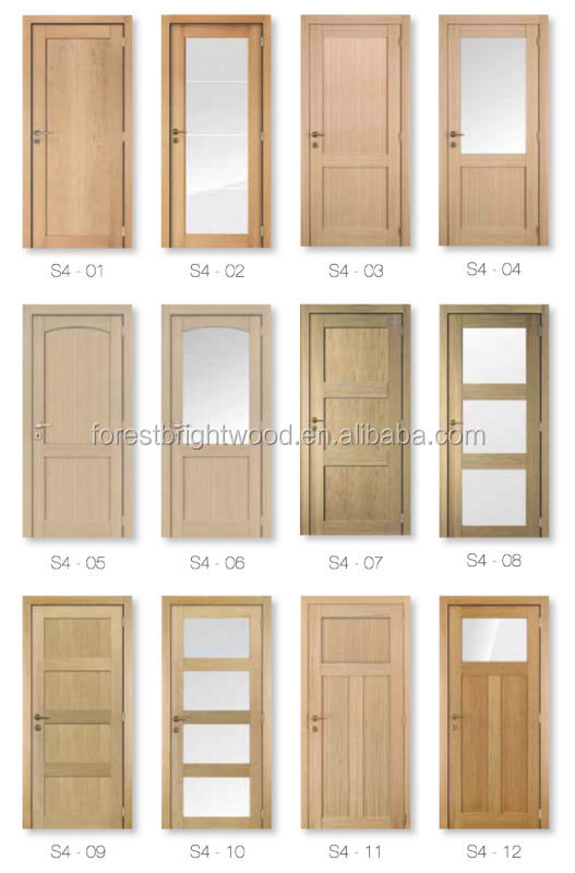 Collection Interior Wooden Doors With Glass Panels Pictures Woonv
