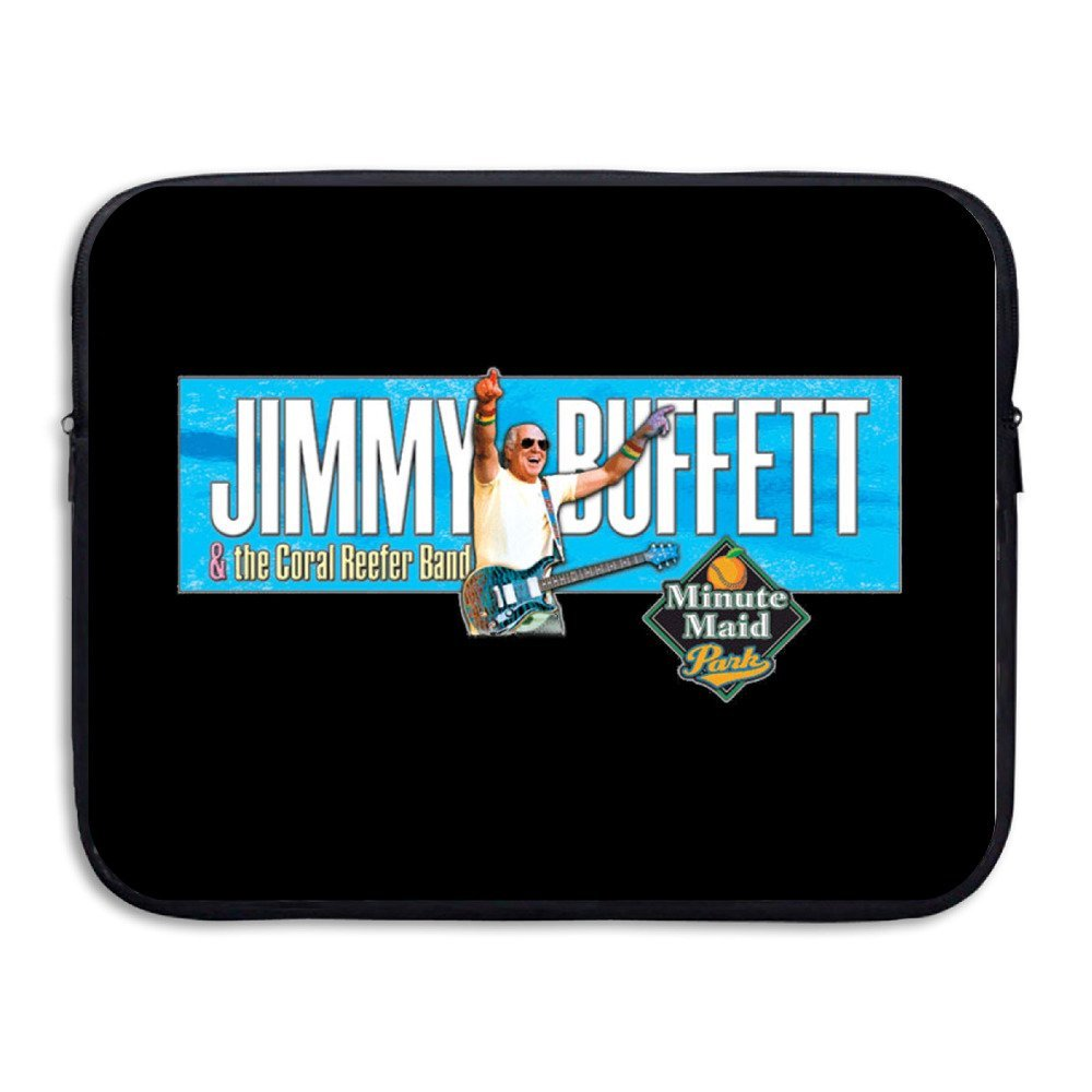 Jimmy Buffett & The Coral Reefer Band Tour 2016 Resistant Laptop Zipper Bag Case 13-15 Inch