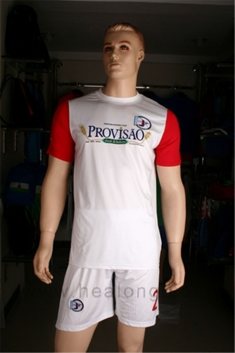 Healong sublimation printing manufacturer full sub Famous Soccer Players Jersey factory