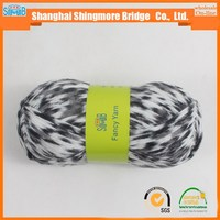 fashion yarn supplier top selling good quality chenille yarn knitting patterns with free samples